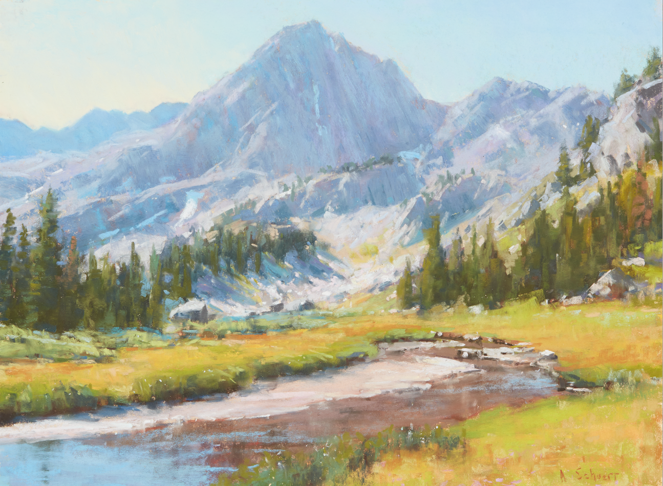Elite Explore Composition For Landscapes With Aaron Schuerr throughout Landscape Painting Composition