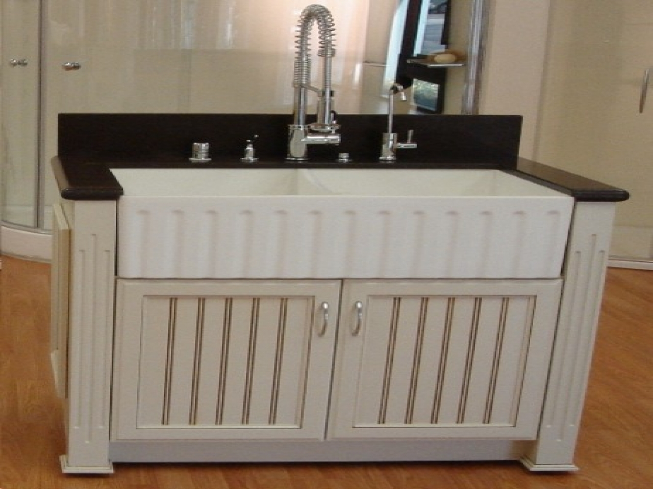Elite Farmhouse Sink Bathroom Vanity | Spirit Decoration inside Good quality Bathroom Farm Sink Vanity