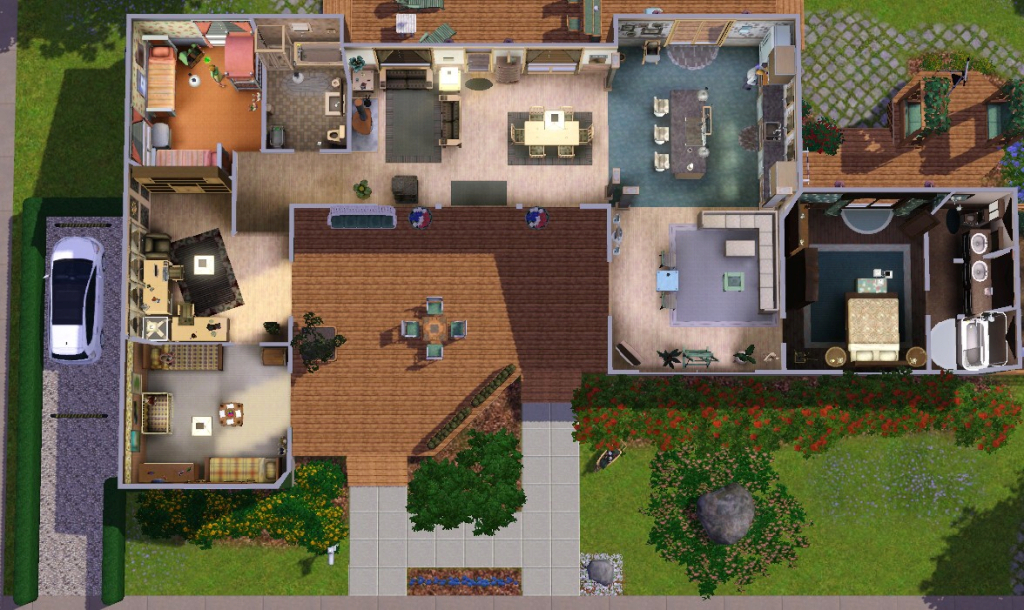 Elite Floor Sims 2 House Plans Showy Plan | Theworkbench regarding Sims 2 House Layout
