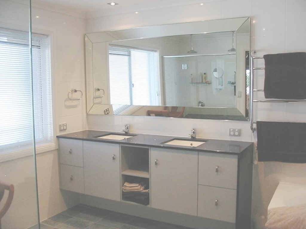 Elite Frameless Mirror Bathroom Vanity Bathroom Mirrors Design Bathroom intended for New Large Bathroom Mirror