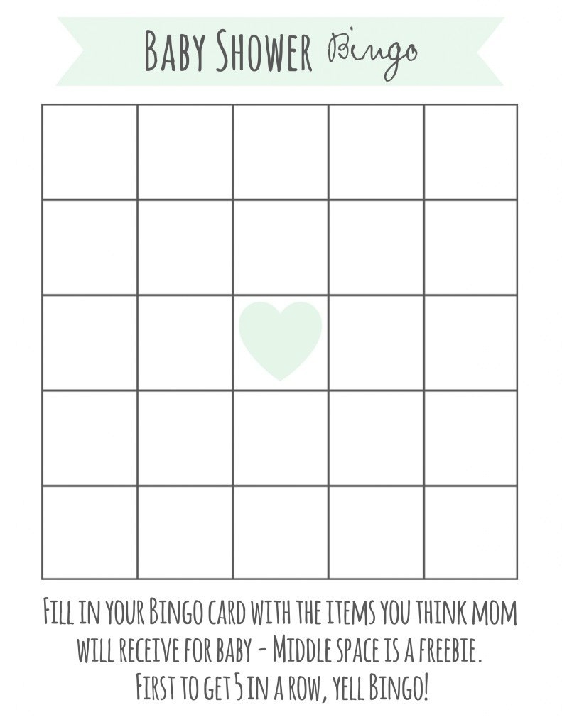 Elite Free Printable Baby Shower Bingo | Pinterest | Baby Shower Bingo in Free Baby Shower Bingo