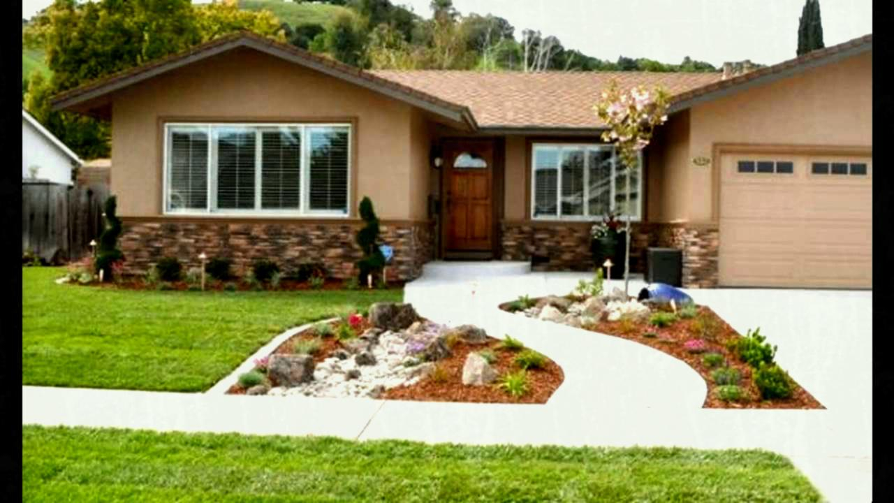 Elite Front Yard Beautiful Landscape Design And » Garden Trends 2018 in Inspirational Landscape Design Front Yard