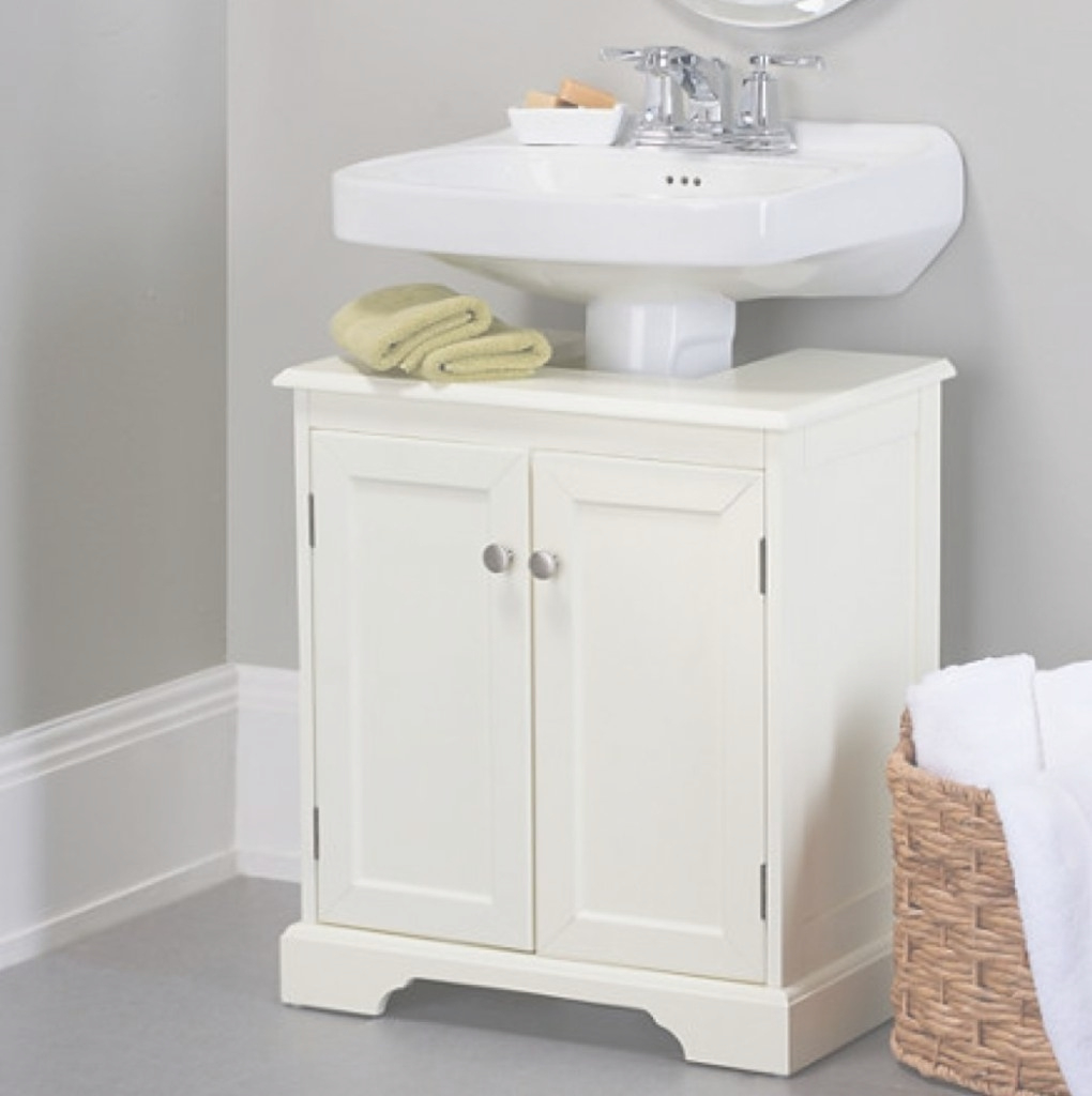 Elite Grey Wall Color With White Pedestal Sink Storage Cabinet For Amazing in Bathroom Pedestal Sink Storage Cabinet