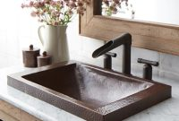 Elite Hana Copper Bathroom Sink | Native Trails with Luxury Antique Bathroom Sinks