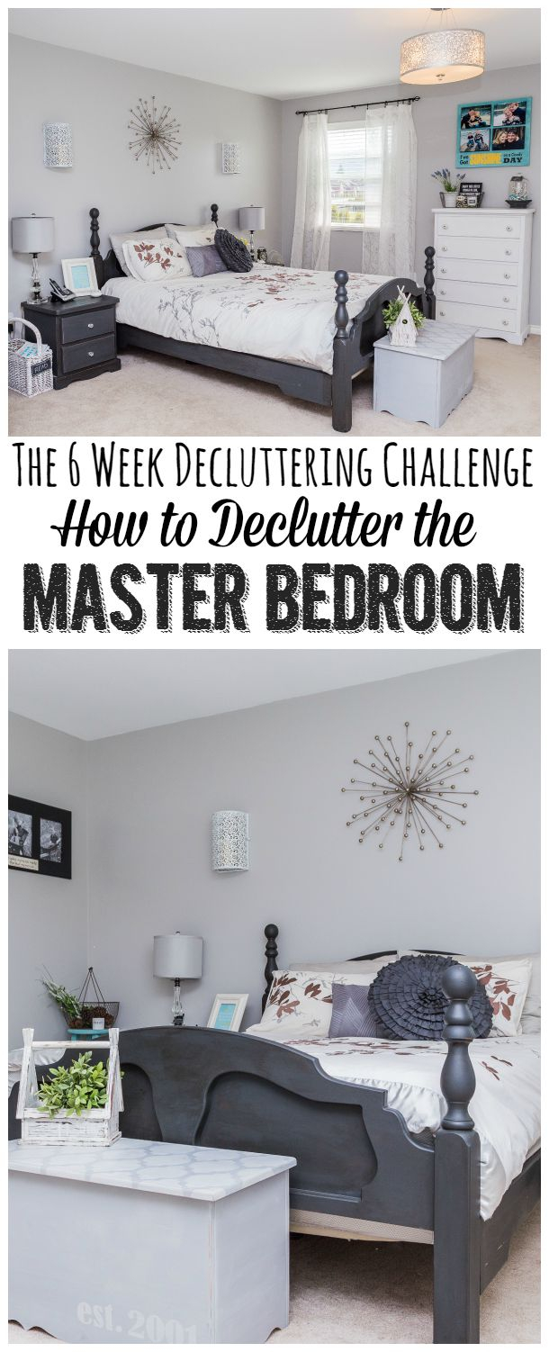 Elite How To Declutter The Master Bedroom - Clean And Scentsible regarding How To Declutter Your Bedroom