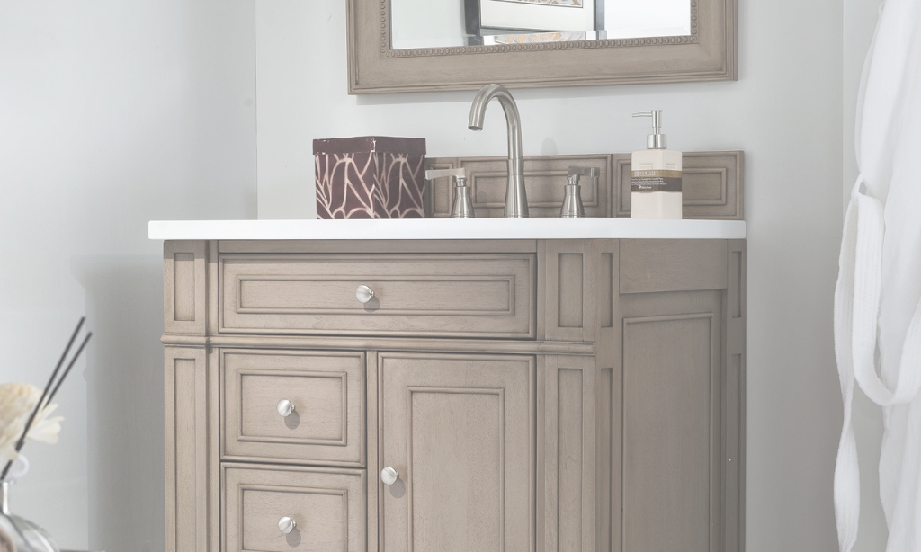 Elite How To Maximize Your Small Bathroom Vanity - Overstock within Beautiful Vanities For Small Bathroom