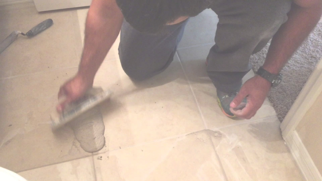 Elite How To Re Grout Your Tile Floors Diy Home Improvements - Youtube throughout Fresh How To Regrout Kitchen Tile
