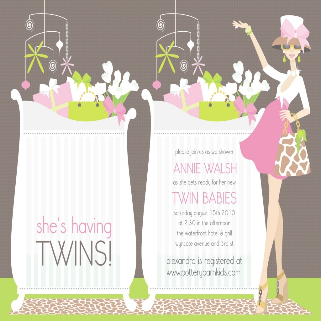 Elite Ideas Twin Blue Elephant Invites Ba Shower Invitations Twins Within with regard to Beautiful Baby Shower Invitations For Twins