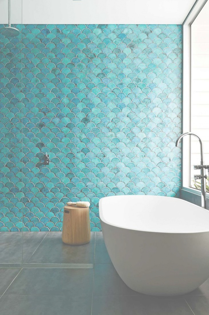 Elite Image Result For Fishtail Vector Mosaic Tile | House - Master Bath in High Quality Blue Bathroom Mosaic Tiles