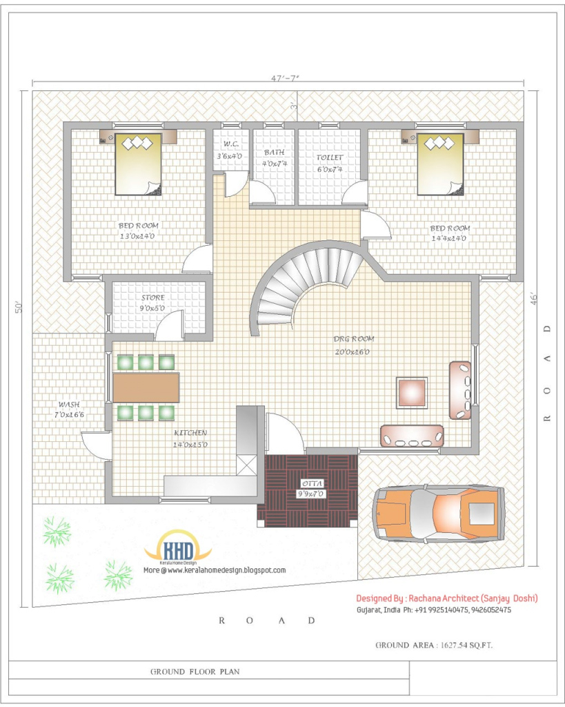 Elite India Home Design With House Plans - 3200 Sq.ft. | Home Appliance in Best of Indian House Plans
