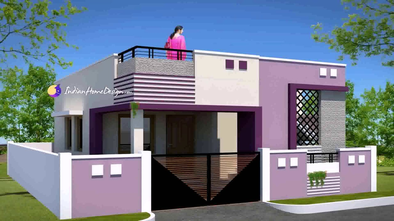 Elite Indian Home Exterior Design Photos Lower Class - Youtube throughout Awesome Indian Home Exterior Design