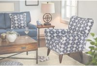 Elite Jessie Accent Chair – Blue | Value City Furniture And Mattresses within Accent Chairs Living Room