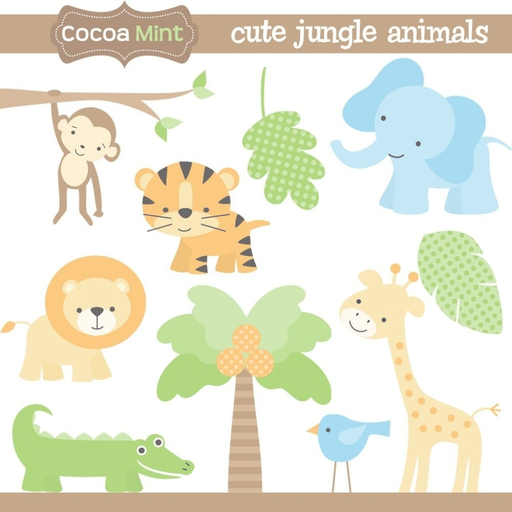 Elite Jungle Animal Silhouette Bashower Pinterest Animal Inside Jungle within Safari Animals Baby Shower