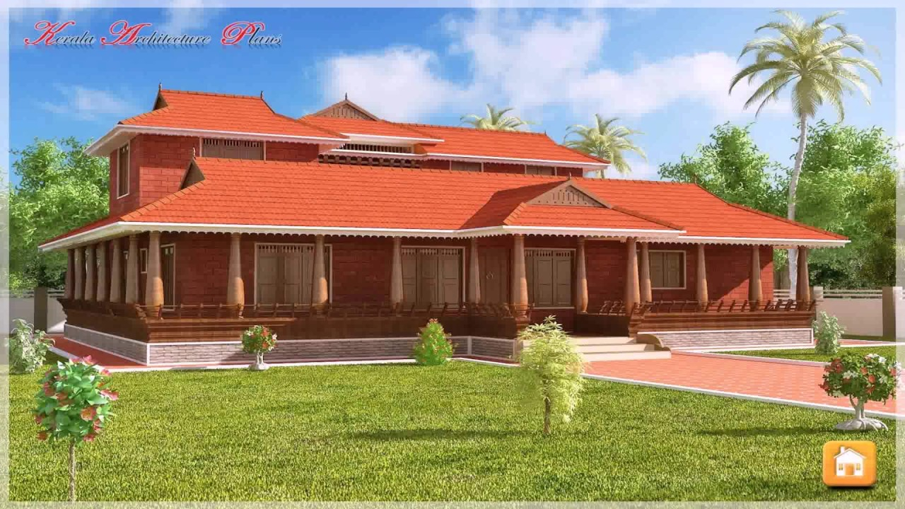 Elite Kerala Style House Plans Nadumuttam - Youtube intended for Inspirational Kerala Traditional House Plans With Photos