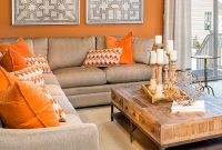 Elite Light Orange Bedroom Burnt Orange And Blue Living Room Orange – The with regard to Burnt Orange Living Room