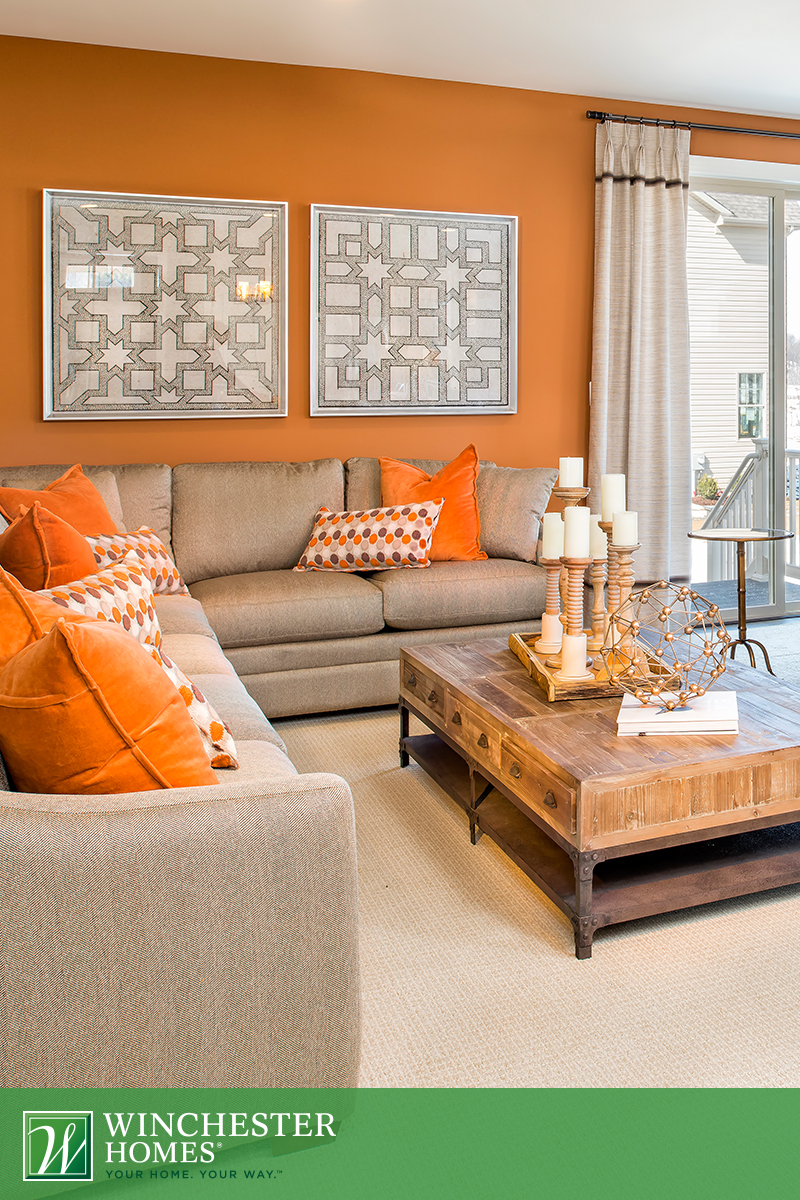Elite Light Orange Bedroom Burnt Orange And Blue Living Room Orange - The with regard to Burnt Orange Living Room