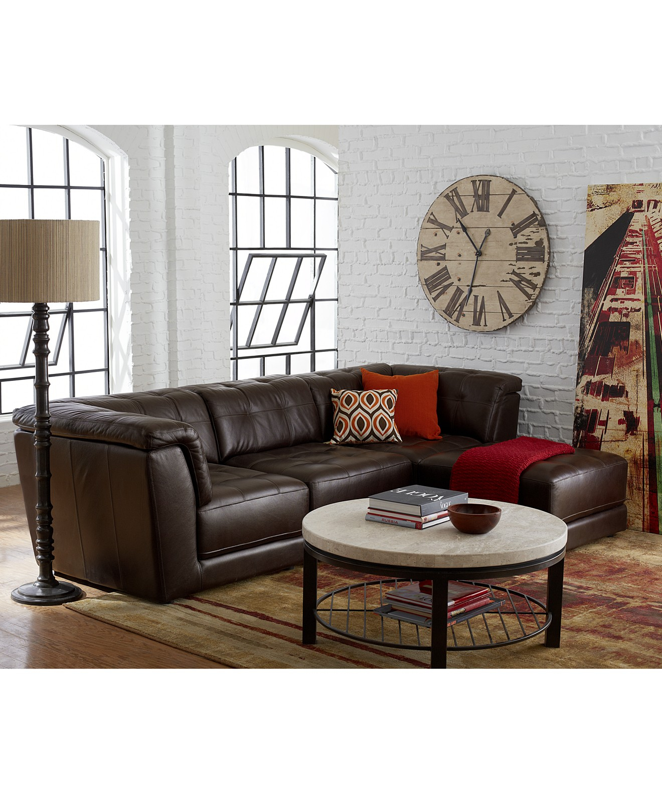 Elite Living Room Sets Leather Ashley Furniture Macy's Department Store with regard to Ashley Furniture Locations