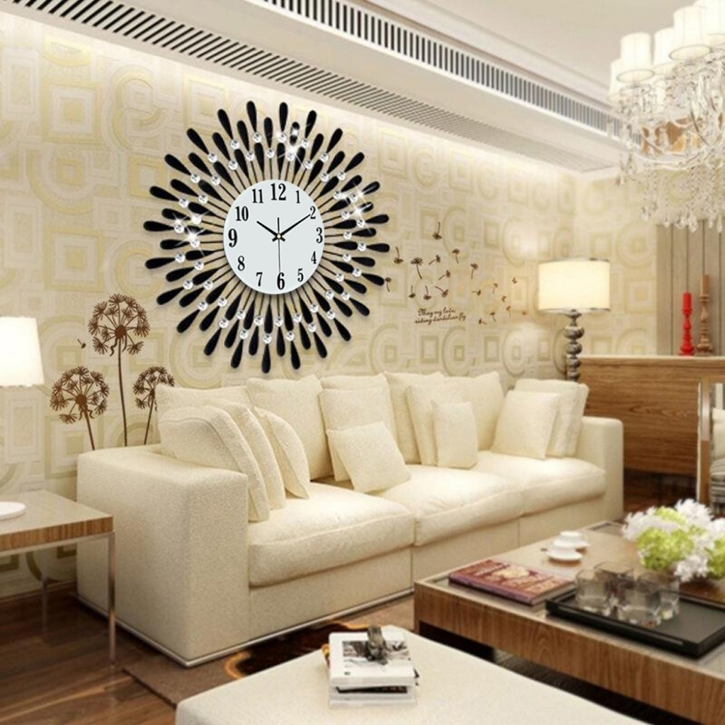 Elite Livingroom Wall Clock Living Room Wall Clocks In Living Room intended for Lovely Living Room Wall Clocks