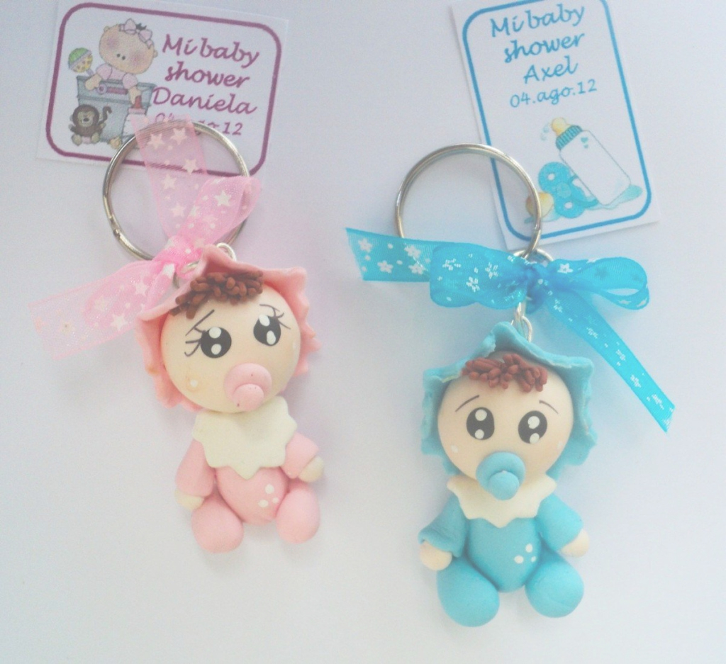 Elite Llaveros Bebes Pasta Francesa Recuerdo Para Baby Shower Daa in Best of Baby Shower Recuerdos