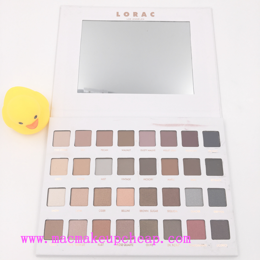 Elite Lorac Mega Pro 3 Palette Matte Neutral Eyeshadow Uk Best 32 Color pertaining to Set 32 Color Palette