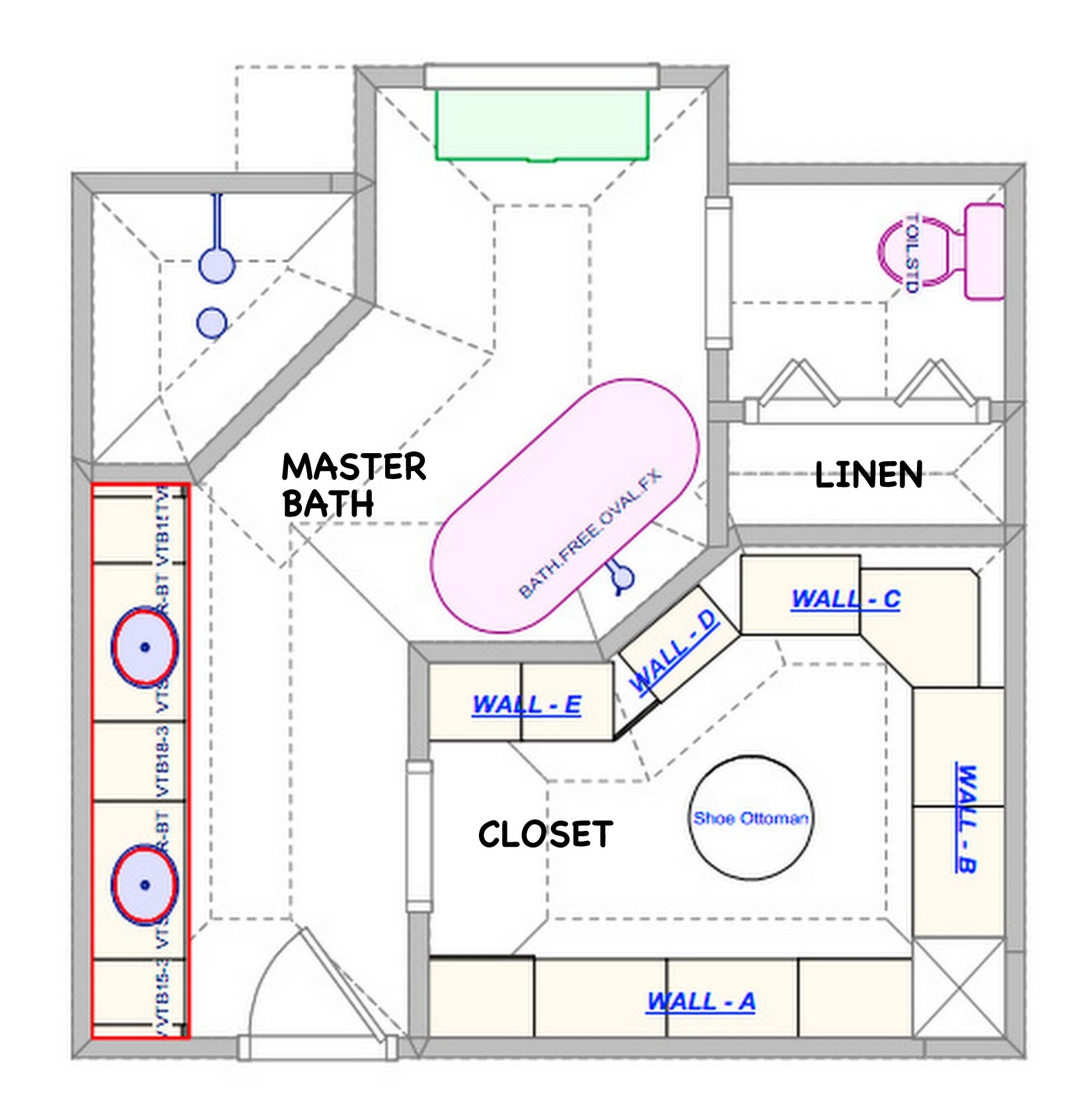 Elite Master Bathroom Layouts Modern Floor Plans Within 4 | Pateohotel throughout Beautiful Master Bathroom Layouts