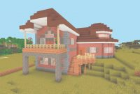 Elite Medium Modern House Minecraft Lovely Minecraft Brick House Ideas pertaining to Good quality Medium Modern House Minecraft Image