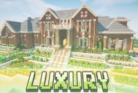 Elite Minecraft – Luxury Brick Mansion – House Map W/ Download – Youtube in Minecraft Cool Houses Download