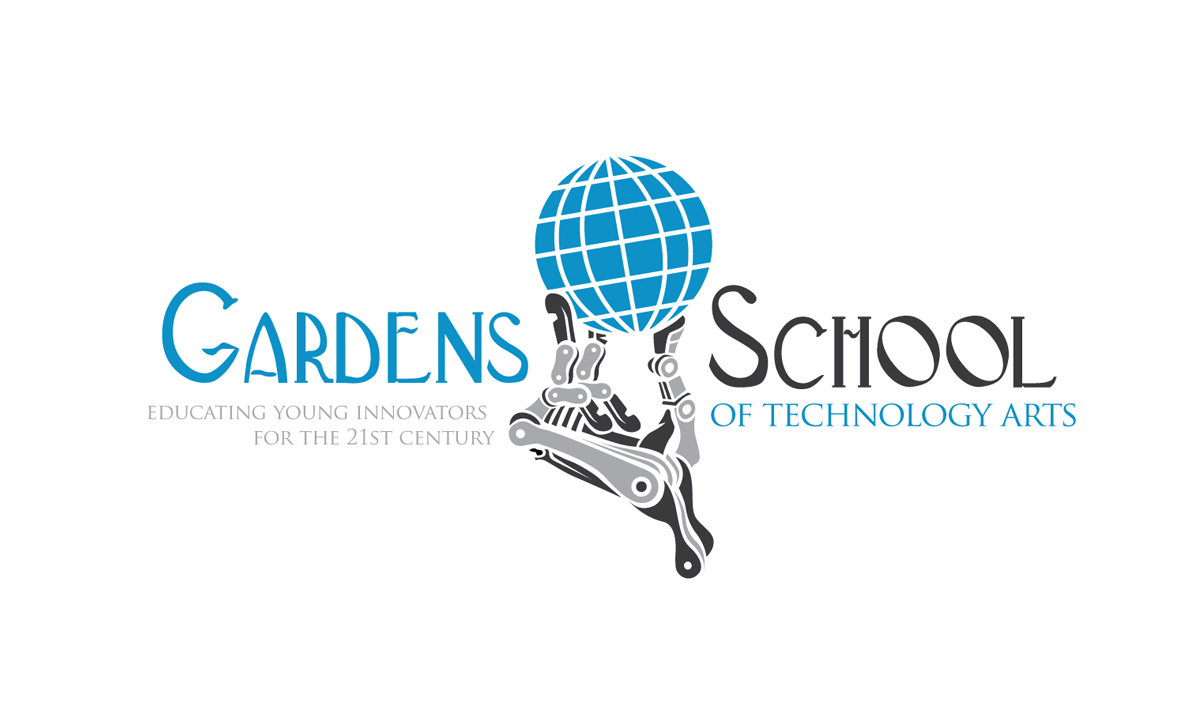 Elite Modern, Bold, Education Logo Design For See Attacheddesignguru in Gardens School Of Technology Arts