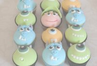 Elite Monsters Inc Baby Shower Cupcakes | 1St Birthday | Pinterest | Baby intended for New Monsters Inc Baby Shower Cake