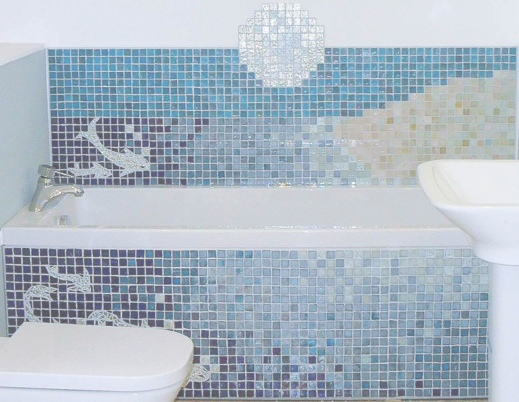Elite Mosaic Wall Tiles Bathroom Elegant Small Bathroom Mosaic Tiles in High Quality Blue Bathroom Mosaic Tiles