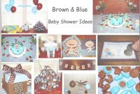 Elite My Creative Way: Brown And Blue Baby Shower Ideas. Modern Baby Boy in Modern Baby Shower Themes