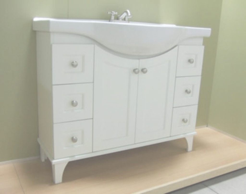 Elite Narrow Depth Bathroom Vanity | Home And Interior intended for Narrow Depth Bathroom Vanities