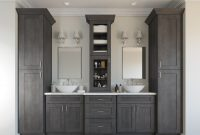 Elite Natural Grey Shaker – Ready To Assemble Bathroom Vanities & Cabinets with regard to Shaker Bathroom Cabinets