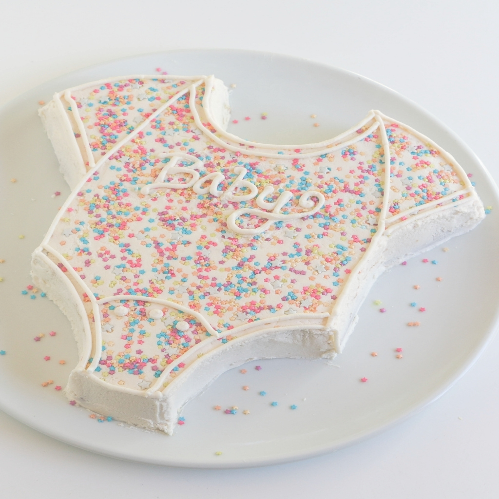 Elite Onesie Cake Tutorial Easy Ba Shower Cake With Regard To Diy Baby regarding Fresh How To Make A Baby Shower Cake