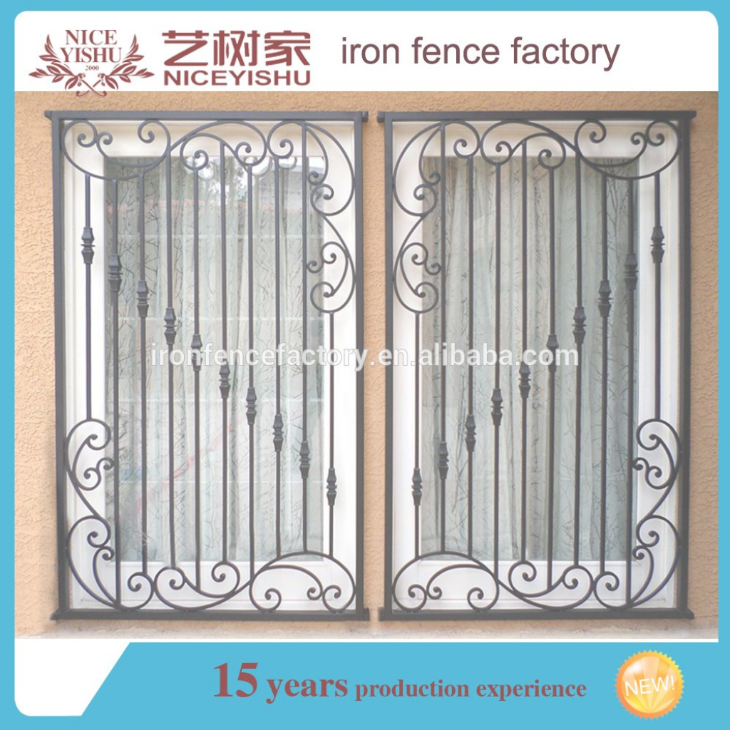 Elite Ornamental Wrought Iron Window Grill Design/simple Steel Window with Beautiful Latest Window Grill Design Photos