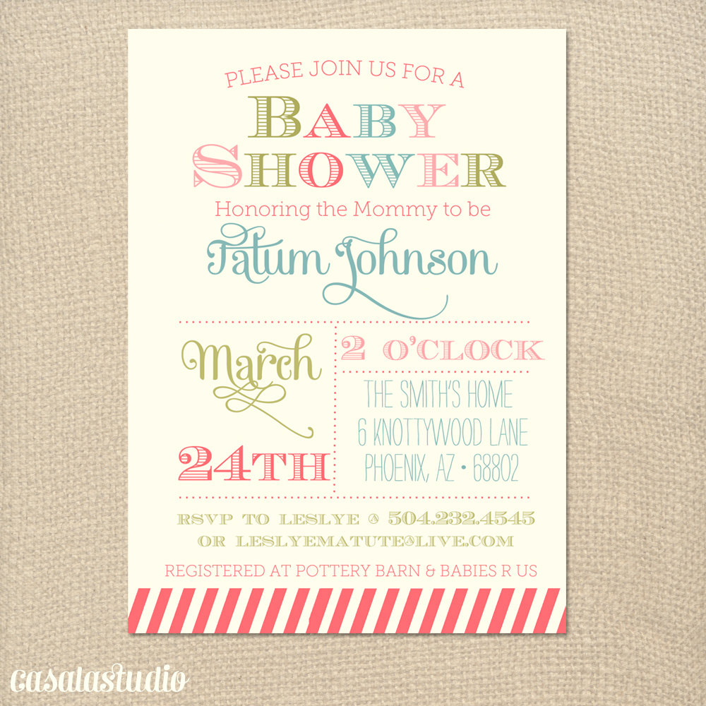 Elite Outstanding Free Baby Shower Invitation Templates To Create Your Own intended for Lovely Free Baby Shower Invitations