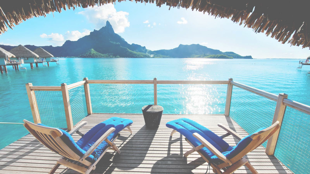 Elite Overwater Bungalows With Glass Floor pertaining to Bungalows In Bora Bora