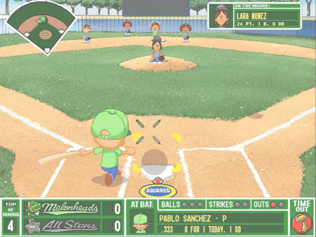 Elite Pablo Sanchez Goes Mlg - Youtube in Pablo Sanchez Backyard Baseball