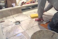 Elite Part 9 Complete Shower Install Studs To Tile: Part 9 Installing The throughout Inspirational Easy To Install Bathroom Flooring