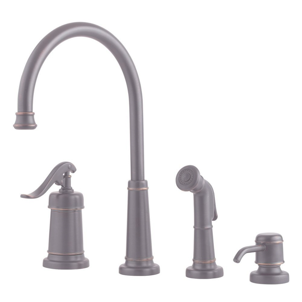 Elite Pfister Ashfield Single-Handle Standard Kitchen Faucet With Matching regarding Pewter Bathroom Faucet