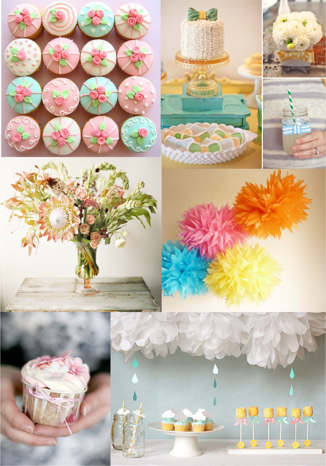 Elite Pinterest Baby Showers Ideas | Cupcakes: Hello Naomi 2. Cake intended for Summer Baby Shower Ideas