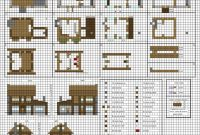 Elite Poppy Cottage – Medium Minecraft House Blueprintsplanetarymap On with regard to Minecraft House Design Plans