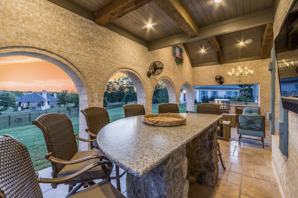 Elite Project Of The Month: November 2017 - Texas Custom Patios intended for Inspirational Backyard Builders