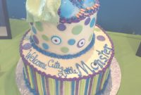 Elite Really Cute With The Monster Feet Peeking! | Monsters Inc. Baby intended for New Monsters Inc Baby Shower Cake