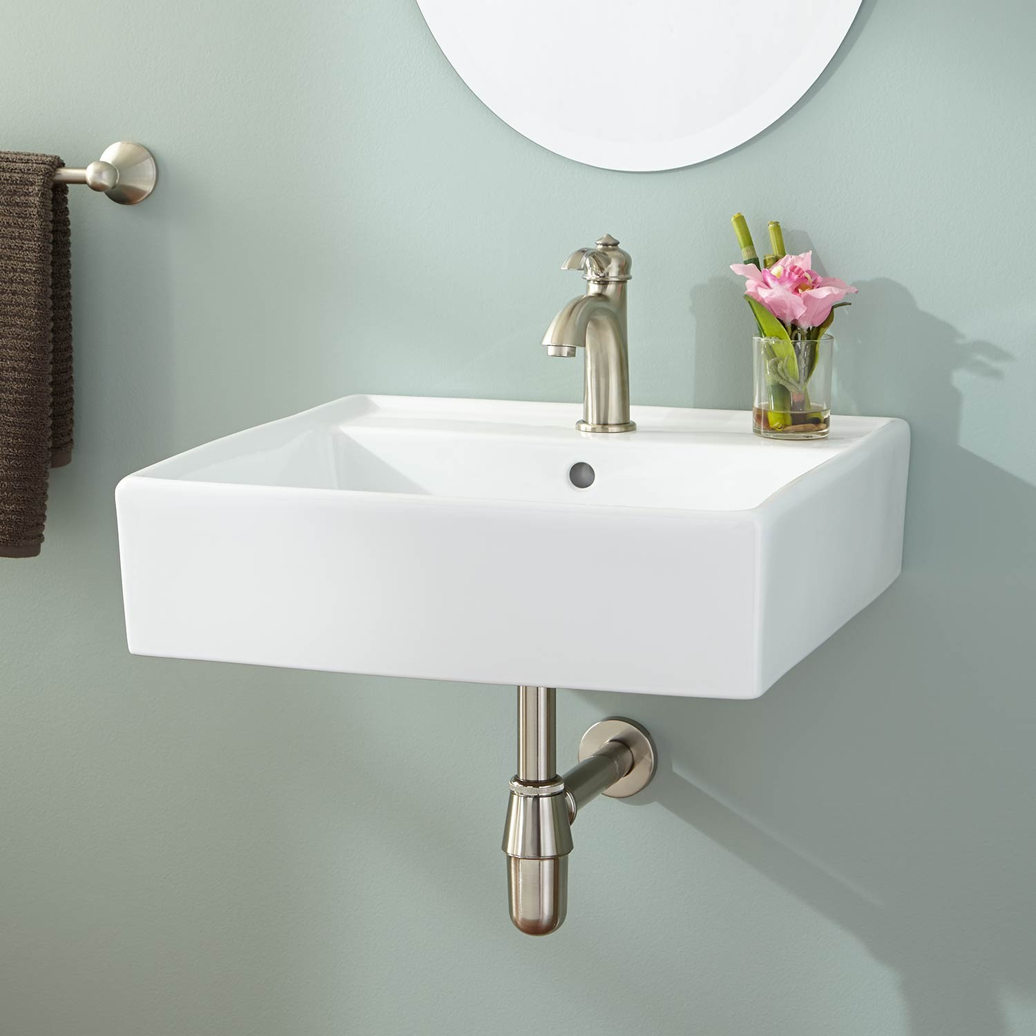Elite Reasons To Buy Wall Mounted Bathroom Sinks Ward Log Homes Standard in Elegant Small Bathroom Sinks Wall Mount
