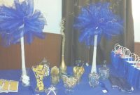 Elite Remarkable Design Royal Blue And Gold Baby Shower Decorations Royal for Royal Blue And Gold Baby Shower Ideas