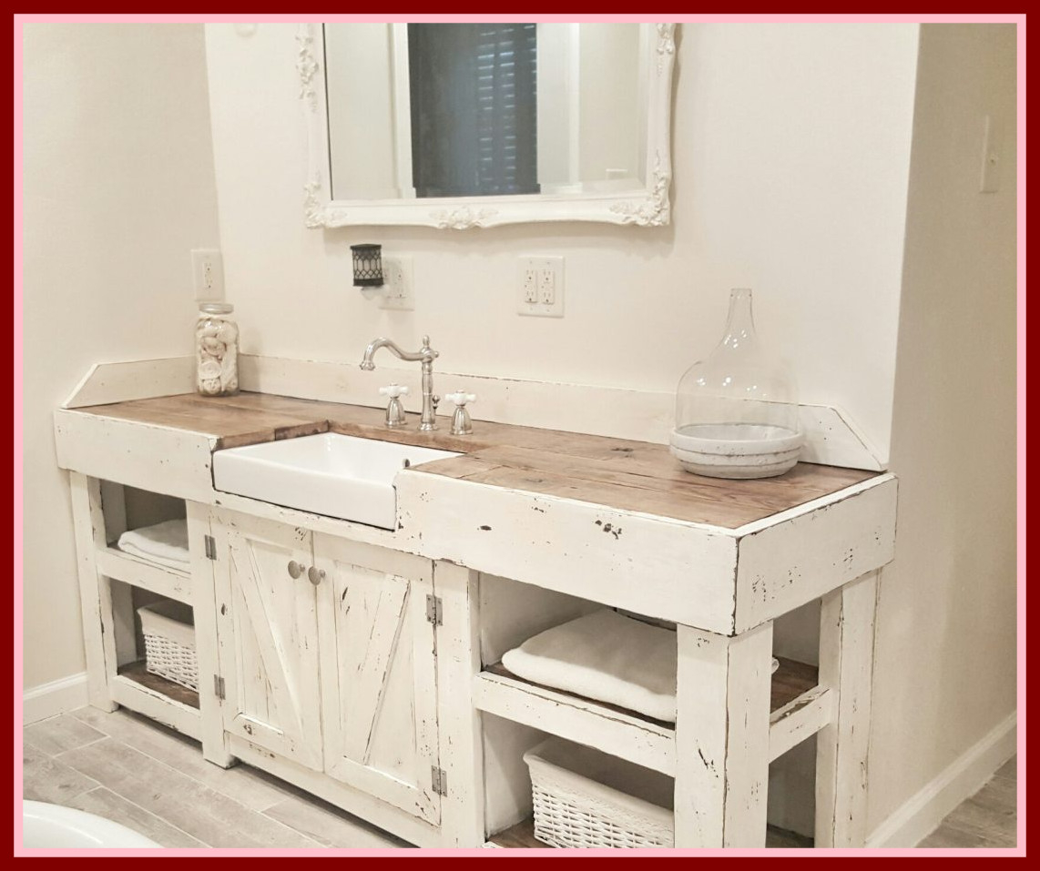 Elite Revealing Farmhouse Style Bathroom Vanity Shocking Top Terrific regarding Luxury Farmhouse Style Bathroom Vanity