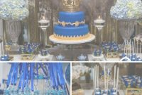 Elite Royal Blue And Gold Prince Shower – Baby Shower Ideas – Themes – Games inside Luxury Royal Blue And Gold Baby Shower Ideas
