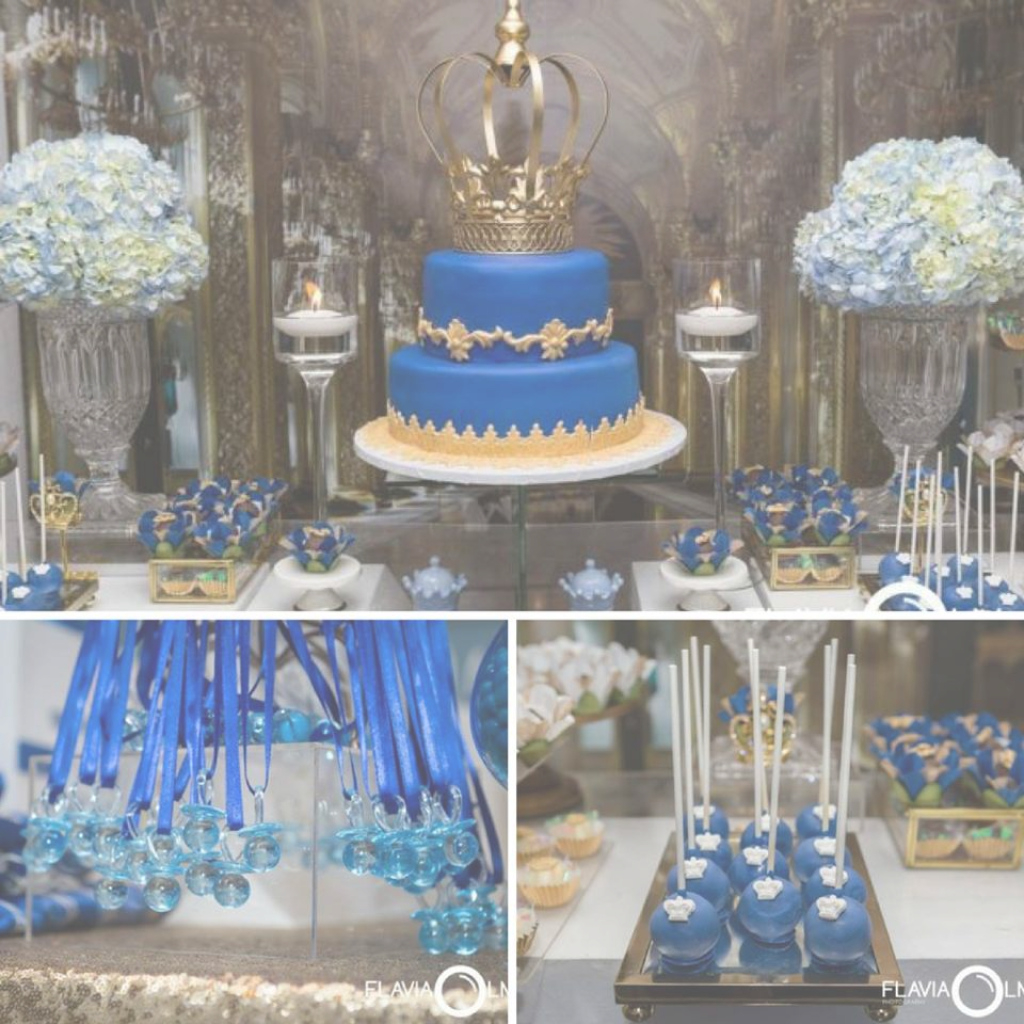 Elite Royal Blue And Gold Prince Shower - Baby Shower Ideas - Themes - Games inside Luxury Royal Blue And Gold Baby Shower Ideas
