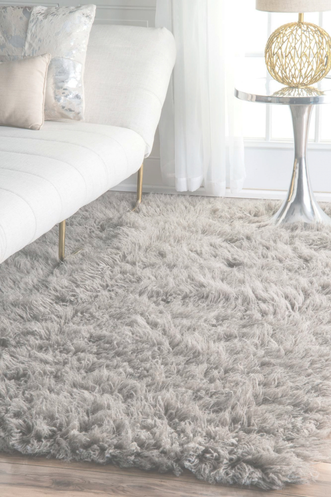 Elite Rugs Usa Natural Greek Flokati Rug - Shags Rectangle 2' X 3 for Soft Area Rugs For Living Room